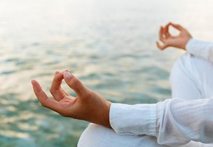 Во время медитации