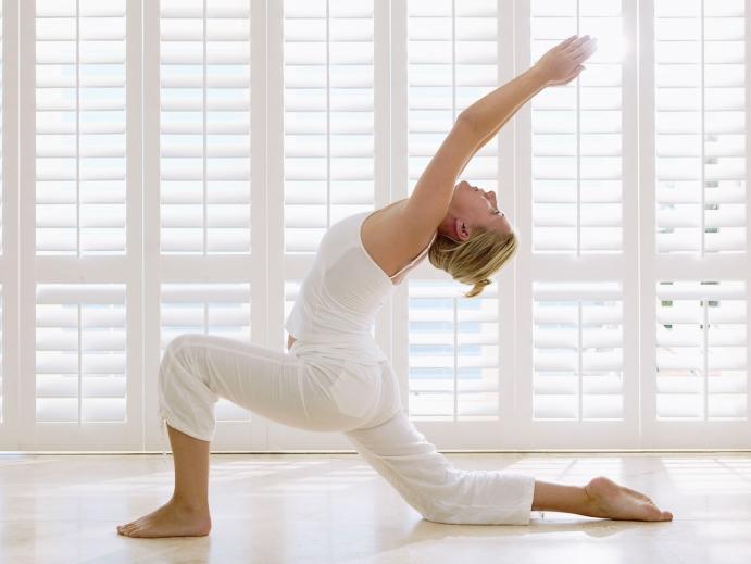 Упражнение йоги