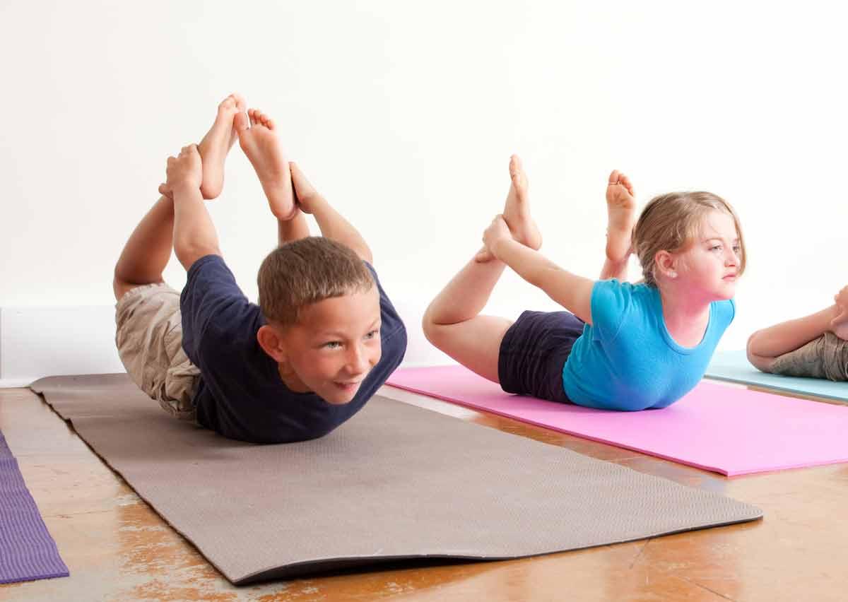 Детская йога