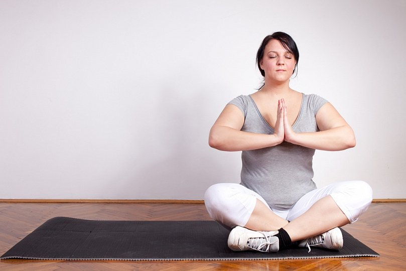 Йога с избыточным весом