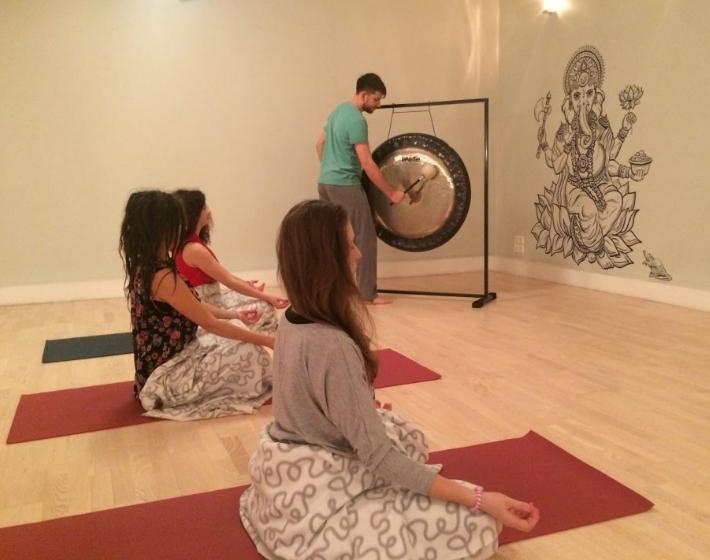 Гонг и йога